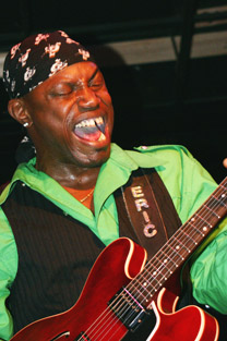 "Eric ""Guitar"" Davis - Saturday, Sept. 5 at 5:00 p.m. on the Big Muddy Blues Festival main stage"